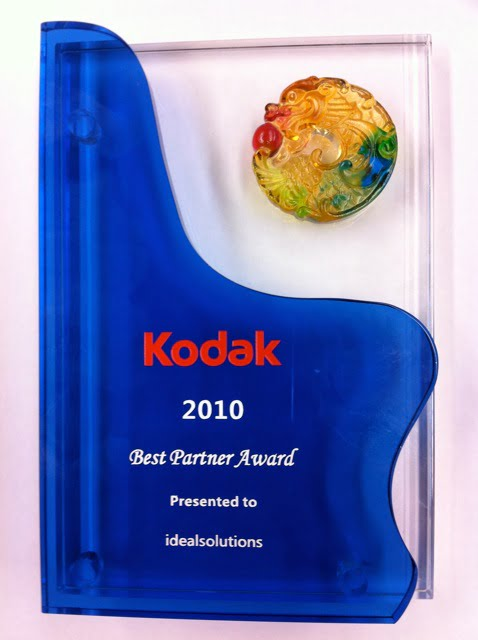 Kodak Award Best Partner 2010
