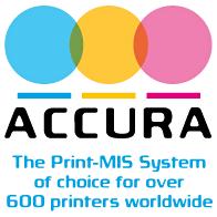 Accura Print-MIS Logo