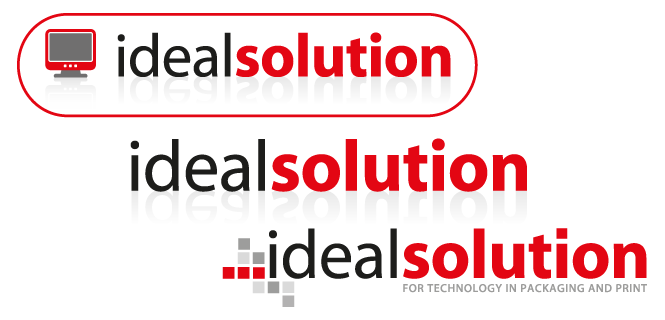Evolution of the Idealsolution Logo