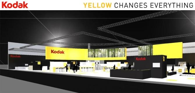 Kodak Stand at Drupa 2012