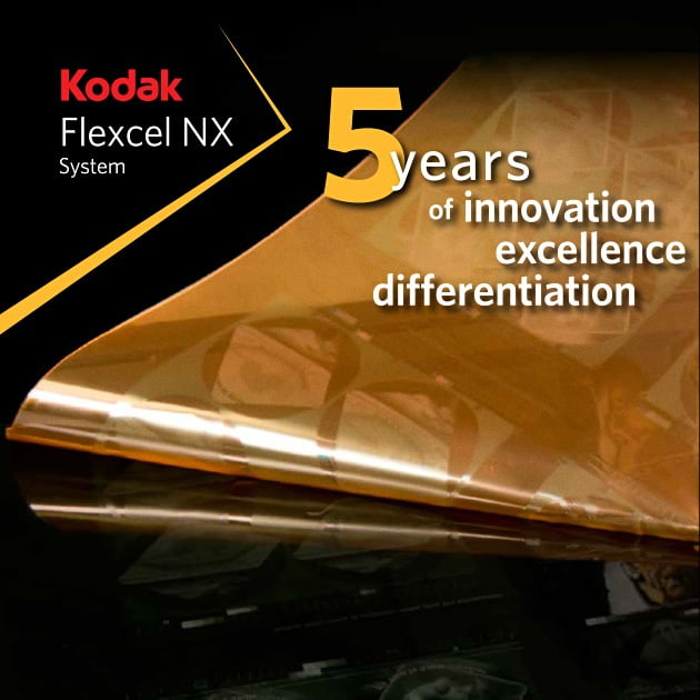 Kodak Flexcel NX - 5 years of innovation excellence differentiation